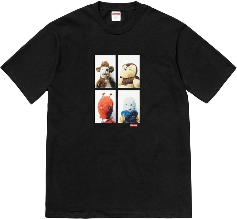 SUPREME Supreme FW18 Mike Kelley AhhYouth Tee Black T T-shirts SUP-FW18-288 (Size: US XL)
