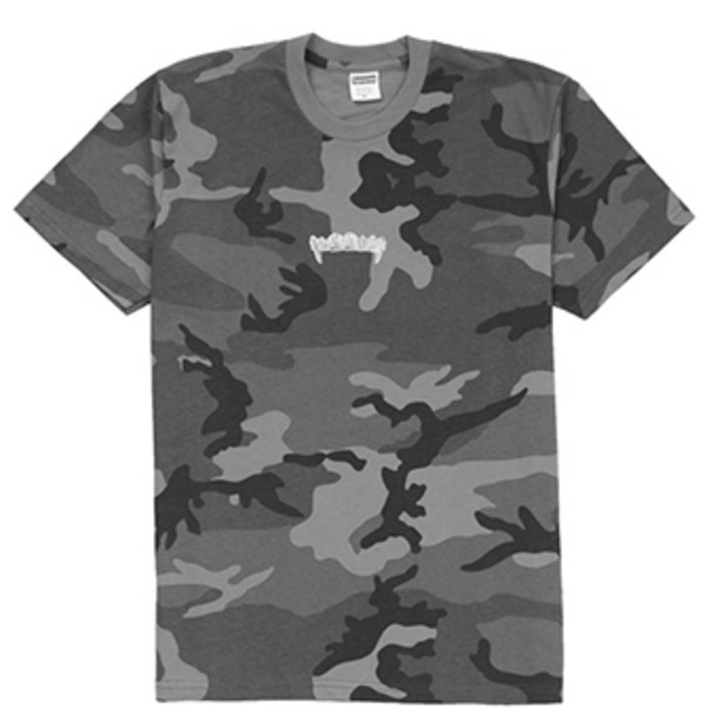 SUPREME Supreme SS19 Fronts Tee Woodland Camo T-shirts SUP-SS19-271 (Size: US M)