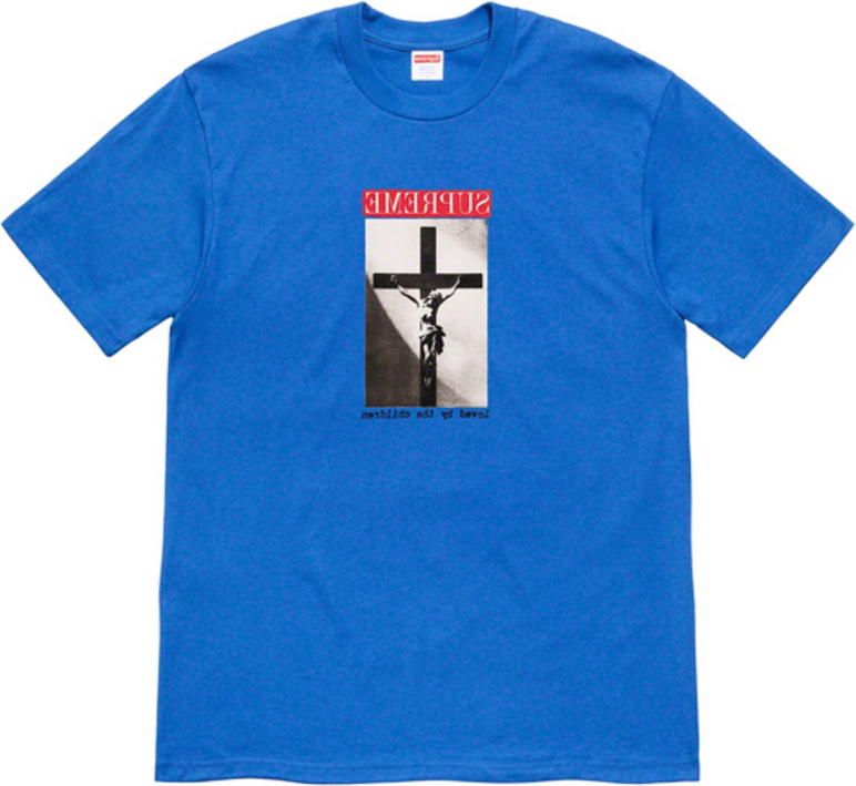 SUPREME Supreme SS20 Week 1 Loved By The Children Tee T T-shirts SUP-SS20-323 (Size: US M)