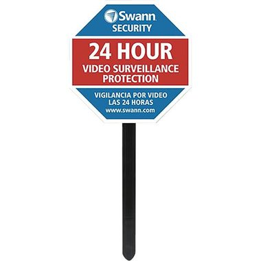 Swann SW276-YSS Yard Stake Warning Sign