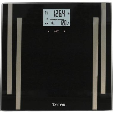 Taylor 7222F Body Fat Smart Scale With BlueTooth Technology