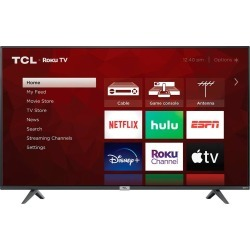 "TCL 75"" 4-Series 4K UHD HDR LED Smart Roku TV"