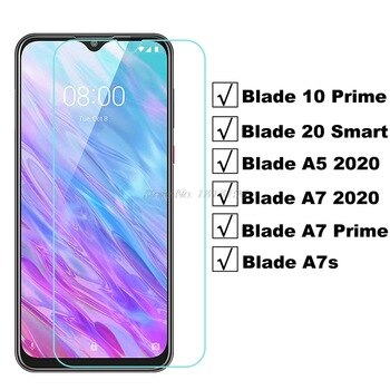 Tempered Glass For ZTE Blade A7S A7 10 Prime High Quality Protective Film Screen Protector for ZTE Blade A3 A5 A7 2020 20 Smart