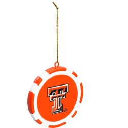 Texas Tech Game Chip Ornament