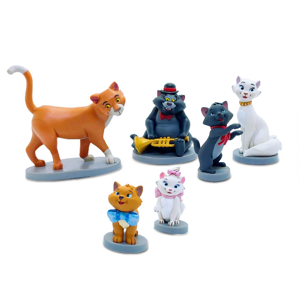 The Aristocats Figure Play Set 50th Anniversary Official shopDisney
