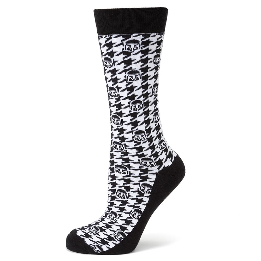 The Mandalorian Houndstooth Socks for Adults Star Wars: The Mandalorian Official shopDisney