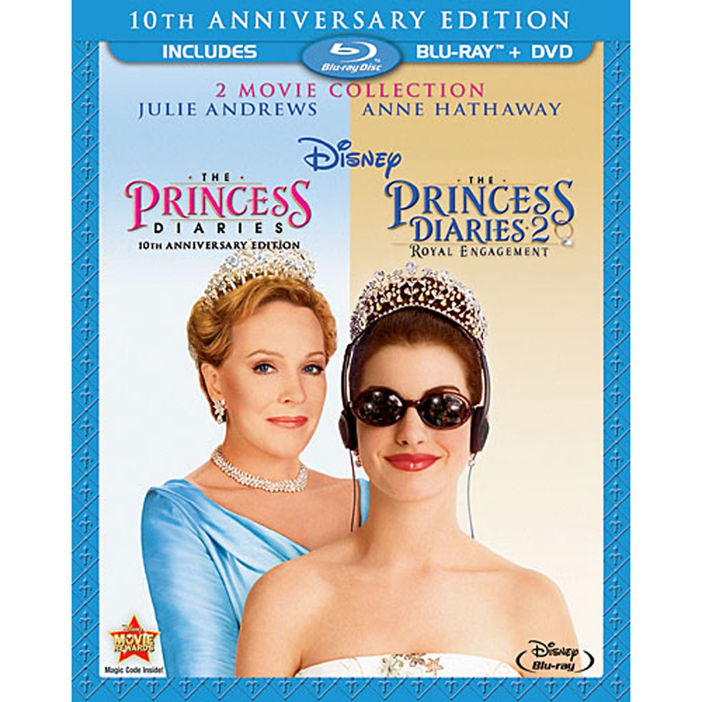 The Princess Diaries Collection 3-Disc Set Official shopDisney