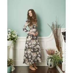 The Victoria Dress June Blooms