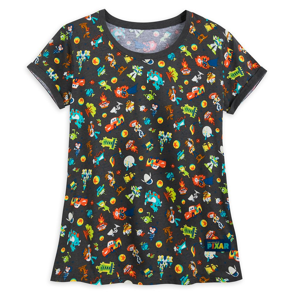 The World of Pixar T-Shirt for Women Official shopDisney