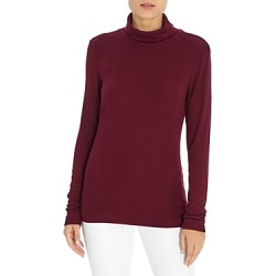 Three Dots Solid Turtleneck