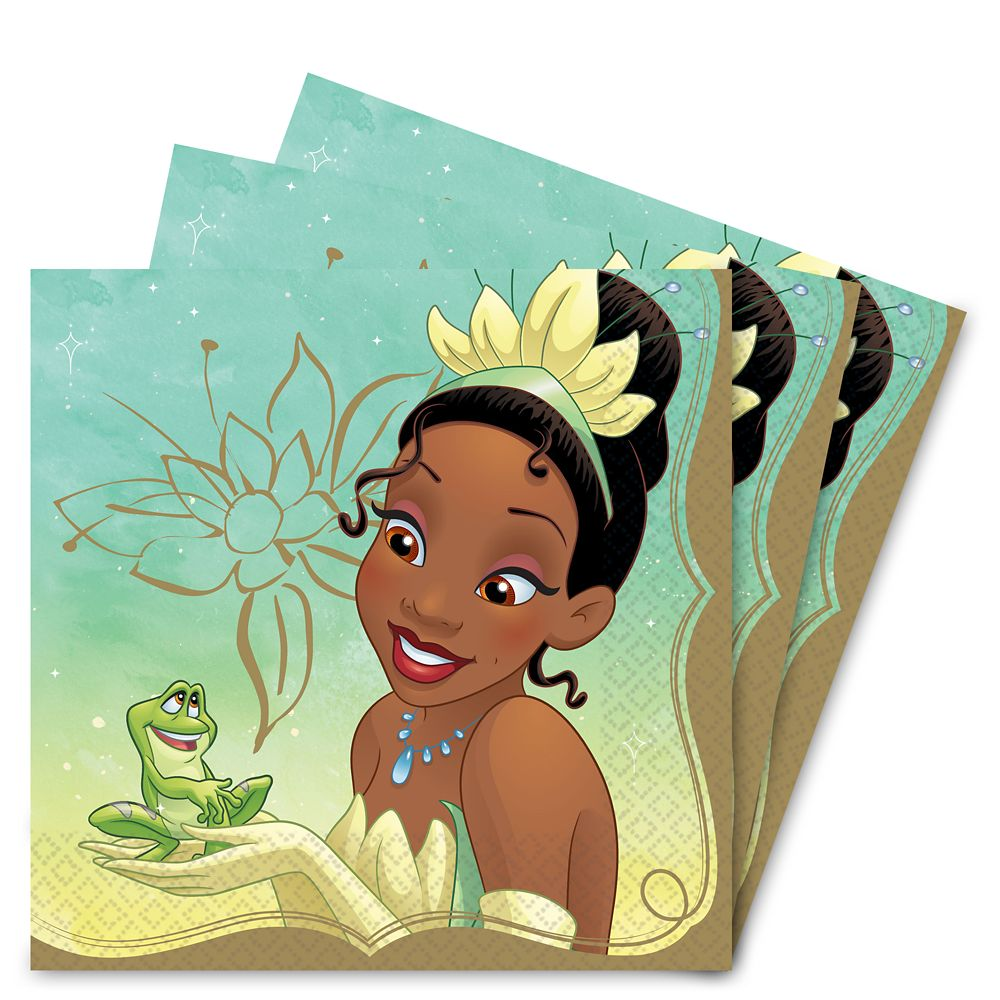 Tiana Lunch Napkins Official shopDisney