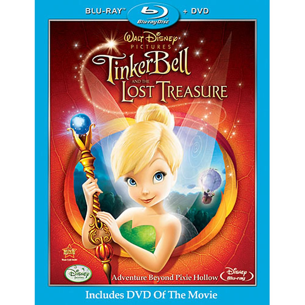 Tinker Bell and the Lost Treasure 2-Disc Combo Pack Official shopDisney