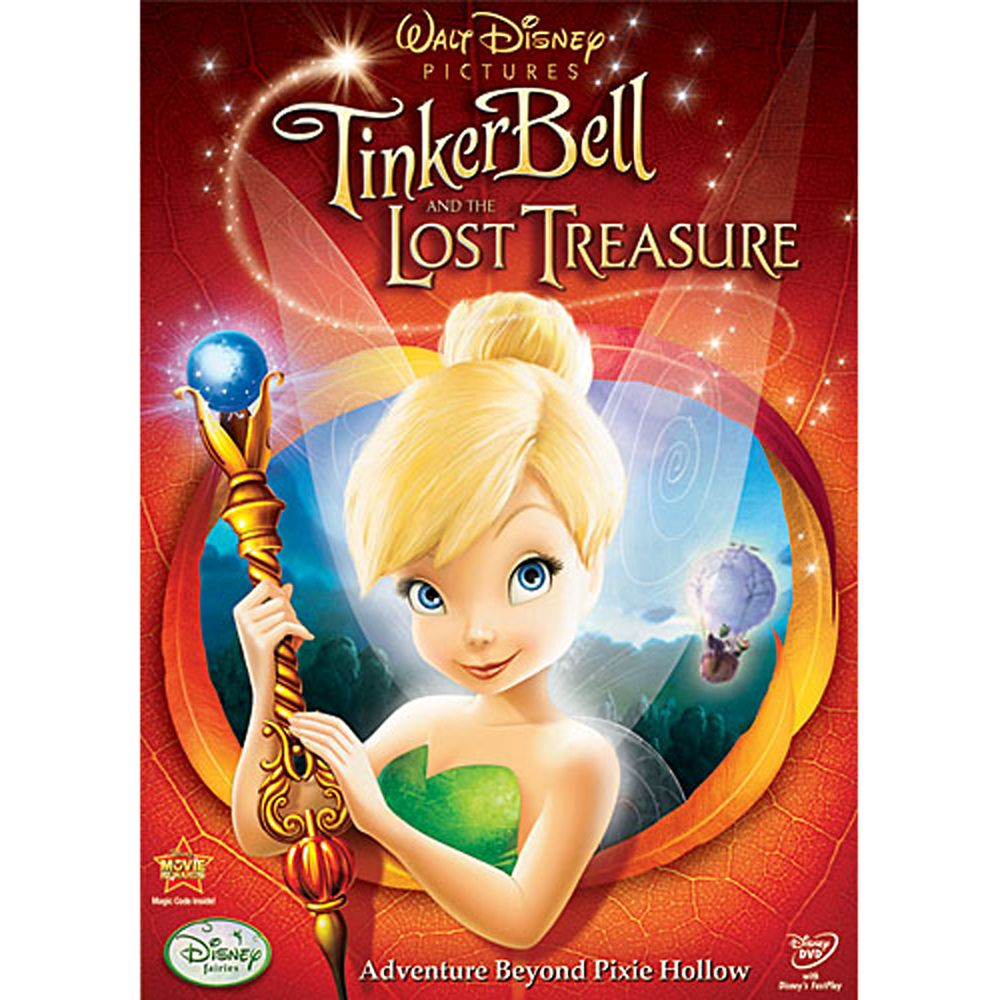 Tinker Bell and the Lost Treasure DVD Official shopDisney