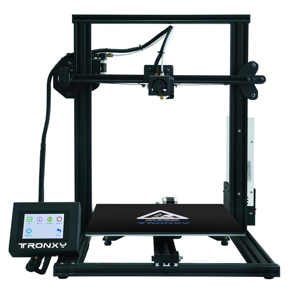 Tronxy® XY-3 Aluminumn Profile 3D Printer 310*310*330mm Printing Size With Resume Print/ 3.5inch Touch Screen/ Magnetic