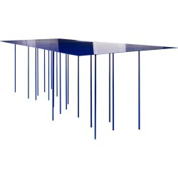 Ttttable Contemporary Table In Steel By Maio Architects-mob Projects