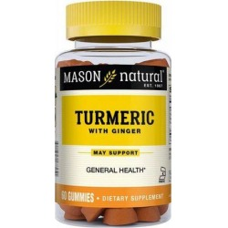 Turmeric with Ginger 60 Caps by Mason