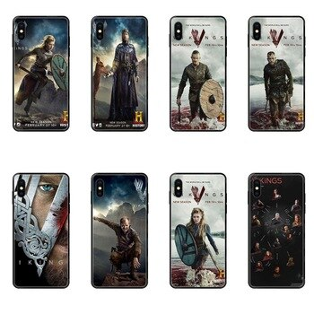Tv Vikings Season 3 Poster Real For Redmi Note 4 5 5A 6 7 8 8T 9 9S Pro Max Black Soft TPU Cell Phone Cover Case