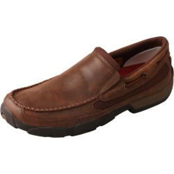 Twisted X Mens Brown Slip-on Driving Mocs 8