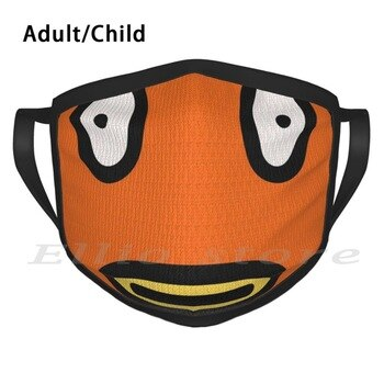 Ugly Fishstick Funny Print Reusable Warm Scarf Mask Epic Games Epic Video Games Video Game Nintendo Switch Playstation