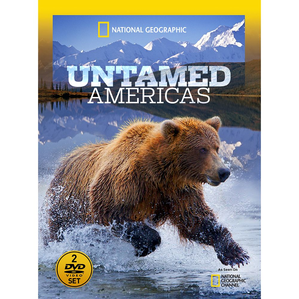 Untamed Americas DVD National Geographic Official shopDisney