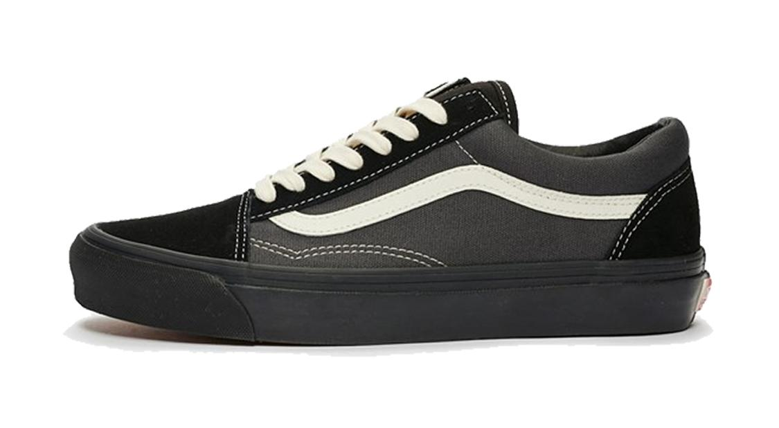 Vans OG Old Skool LX 'Black Forged Iron' Black/Forged Iron Sneakers/Shoes VN0A4P3XTJ1 (Size: US 9.5)