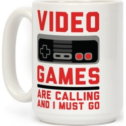 Video Games Are Calling Mug from LookHUMAN