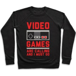 Video Games Are Calling Pullover from LookHUMAN