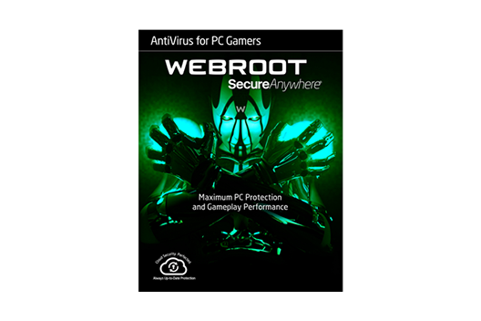 Webroot AntiVirus for PC Gamers