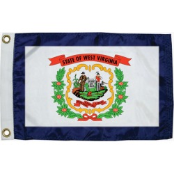 "West Virginia State Flag, 12"" x 18"""