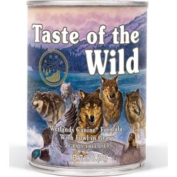 Wetlands Canine Formula Dog Food Size 13.2 oz/12 Pack by Taste of the Wild