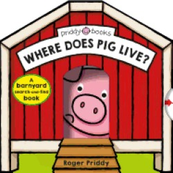where does pig live a barnyard search and find book