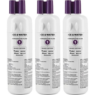 Whirlpool EDR1RXD1 Ice & Water Refrigerator Filter (Three Pack)