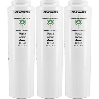 Whirlpool EDR4RXD1 Ice & Water Refrigerator Filter (Three Pack)