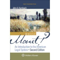 whose monet an introduction to the american legal system