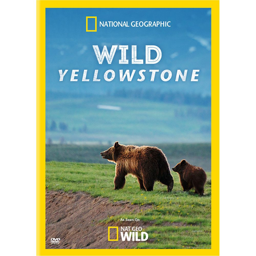 Wild Yellowstone DVD National Geographic Official shopDisney