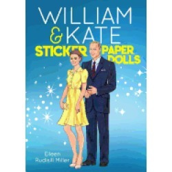 william and kate sticker paper dolls