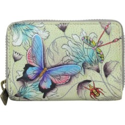 Women's Anuschka Credit And Business Card Holder, Size: Osfa, Wondrous Wings
