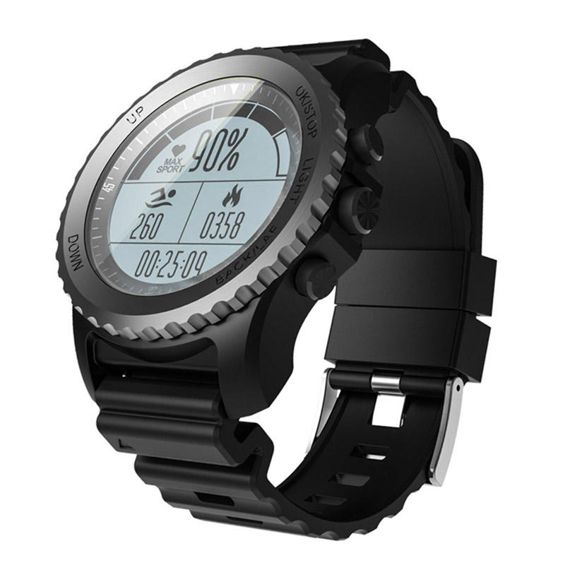 XANES S968 Smart Watch IP68 Waterproof GPS Heart Rate Monitor Swiming Diving Sport Watch For Android IOS