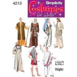 XS,S,M,L,XL - Simplicity Adult Costumes And Helmet In
