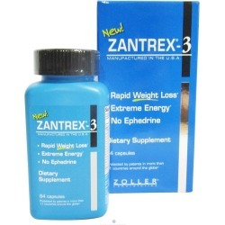 Zantrex 3 Rapid Weight Loss Capsules - 84 ct