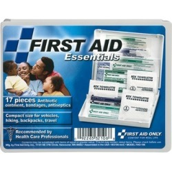 First Aid Only Plastic Travel First Aid Kit