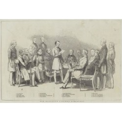 Giclee Painting: Her Majesty's Cabinet Ministers, 24x16in.