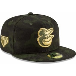Baltimore Orioles New Era MLB Armed Forces Day On-Field 59FIFTY Fitted Hat - Camo