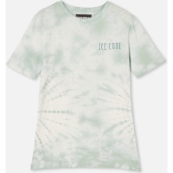 Free by Cotton On - Co-Lab Free Tee - Lcn mt duck egg tie dye / ice cube
